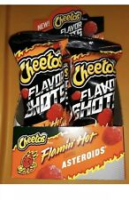 Cheetos Flavor Shots Flaming Hot Asteroids 6 Pack