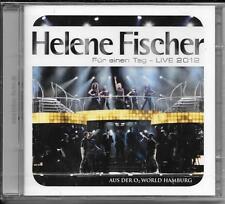 2 CD Helene Fischer `Für Einen Tag - Live 2012` Neu/OVP