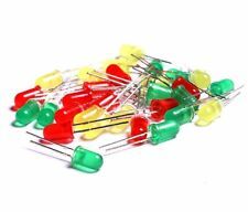 3mm 5mm LED Diodes Diffused Red Green Yellow Lights Lamp Bulb Fast Shipping USA