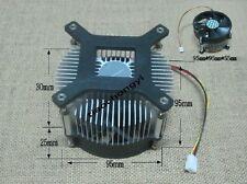 1set Aluminium Heat Sink Cooling Fan 50w 100w High Power Led Light 959555mm