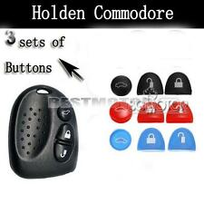 3 Color Sets Key Buttons Remote Repair Holden Commodore VS VT VX VY VZ WH WK WL
