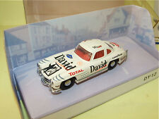 MERCEDES 300 SL GULLWING MATCHBOX Déco course non d'origine