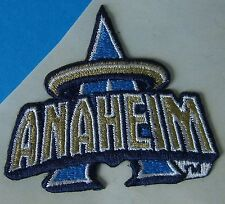 (2) Anaheim Angels Embroidered Team Logo Patches (Logo for 1997 - 2001)