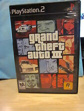 Sony PlayStation PS2 Grand Theft Auto III Complete Video Games