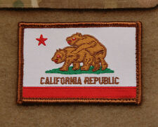 US Special Forces California State Flag Patch ODA Afghanistan CAG DEVGRU Hook