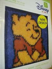 Disney Huggable Pooh Latch Hook Kit 13x13 Inches Started Wp0016