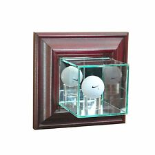 *NEW Wall Mounted Golf Ball Glass Display Case PGA