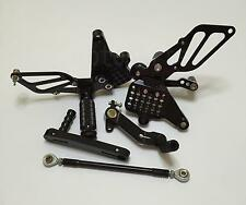 CNC Adjustable Rearset Foot pegs Rear set For Ducati 749 999 748 916 996 998 S R
