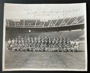 Woody Hayes Signed 8x10 Photo 1950's Original Vintage Autograph PSA/DNA
