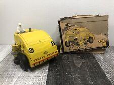 Vtg Wind-Up Nylint Elgin Street Sweeper Tin Litho Rare Antique Toy