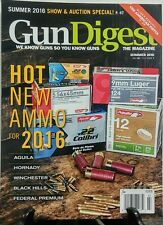 Gun Digest Summer 2016 Hot New Ammo for 2016 Winchester Aguila  FREE SHIPPING sb