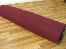 B1 Bühnenmolton-Molton-Stoff Bordeaux rot 3m breit 160gr Foto Studio Hintergrund