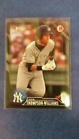 DOM THOMPSON-WILLIAMS 2016 BOWMAN CARD BD-23 YANKEES SP/499 ( ROOKIE PARALLEL )