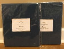 NEW 2PC Pottery Barn Torrey Outdoor Dining Side Chair Cushion Cover SAPPHIRE