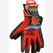 Ultra grip Working gloves Black/Red Nitile XL Deckton