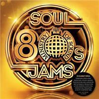 MINISTRY OF SOUND 80s SOUL JAMS VARIOUS ARTISTS 3 CD DIGIPAK NEW