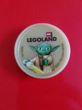Merlin Legoland Pop Badge - 2011 Star Wars Yoda glow in the dark. May the 4th.