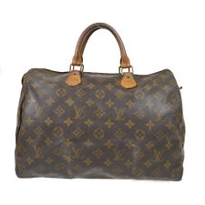 LOUIS VUITTON SPEEDY 35 HAND BAG PURSE MONOGRAM CANVAS VI882 M41524 91779