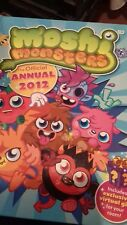 Moshi Monsters Official Annual. 2012. Hardback Book.