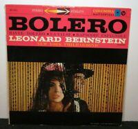 LEONARD BERNSTEIN BOLERO (VG+) MS-6011 LP VINYL RECORD