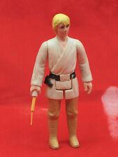 Vintage Star Wars Luke Skywalker Farmboy Complete Action Figure with Lightsaber