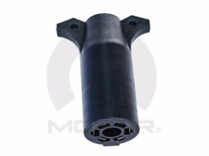 00-18 Chrysler Dodge Jeep New 7 Way to 6 Way Round Connector Adapter Mopar Oem