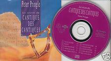 PETER PRINGLE Le Secret du Cantique Des Cantiques (CD 1992) French Canada