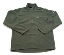 PATAGONIA CAPILENE Fleece Lined Pullover Jacket 1/4 Zip Green Men's Size Large