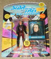1993 PLAYMATES STAR TREK TNG AMBASSADOR K'EHLEYR ACTION FIGURE (New In Package)