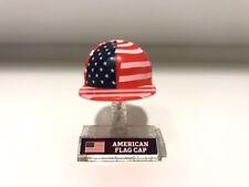 """*Rare* 2017 Series 2 Nfl Mad Lids - American Flag Cap 1"""" Mini Caps Football 1:36"""