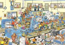 Jumbo Jan Van Haasteren The Printing Office Jigsaw Puzzle (3000 Pieces)