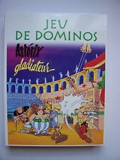 "Jeu de Société "" Jeu de Dominos "" , ASTERIX  Gladiateur , avec Pins , Atlas"