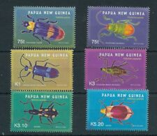 Papua New Guinea 2005 Insects Beetles MNH Set (6 Stamps) Pap65