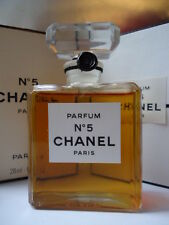 Sealed mint box CHANEL No5 PARFUM 28ml Fabulous vintage 1970-80s weighed & full