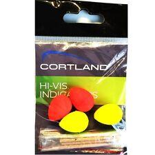 Cortland Fly Fishing Hi-Vis Yellow and Orange Line Indicators (package of 4)