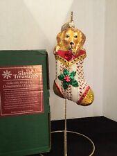 """Peter Puppy"" 6.75 Slavic Treasures 99-147-Efb Stocking Stuffers Ornaments Nib"
