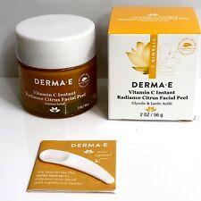 Derma E Vitamin C Instant Radiance Citrus Facial Peel Exp 01/22 2 oz/56g