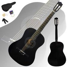 "New 38"" Beginner Practice Black Acoustic Guitar+Gigbag+Strap+Tuner"