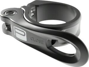 Promax BMX Seat Post Clamp - QR-1 Quick Release Clamp - 34.9mm - Black