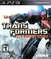 Transformers: War for Cybertron - Playstation 3 Game