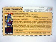 Figuras del Comandante Cobra de G.I. Joe