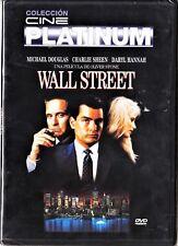 cine platinum: WALL STREET de Oliver Stone. España tarifa plana envíos DVD: 5 €