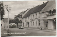 B 741 Usedom 1959 ! Hotel Usedomer Hof mit Bus und Auto P70 !