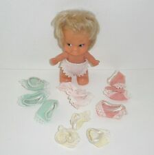 "Vintage 3 1/2""-4"" PEE WEE & TROLL SIZE DOLL PANTIES (12) Mixed Colors"