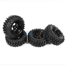 4x Bergsteiger Rad Felge + Reifen für 1/10  Auto RC Truck Crawler Buggy