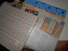 Huge Lot of Scrapbooking Supplies Paper Lot 5