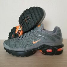 0610d1a0e0 Nike Air Max Plus TN Tuned Youth Orange Olive Black Size 4Y ( AO5435-001