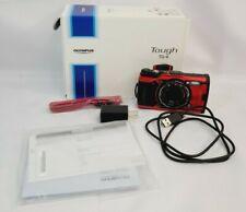 New Olympus Tough TG-6 Digital Camera Waterproof 12MP WiFi Red