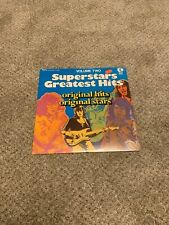 Superstars greatest hits Rock Record lp original vinyl album sealed