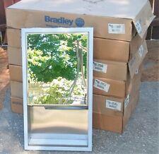 Bradley 155 Recessed Towel Dispenser, Exterior Shelf, Mirror Door 155-270000 Nos